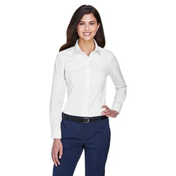 Ladies' Crown Woven Collection? Solid Oxford