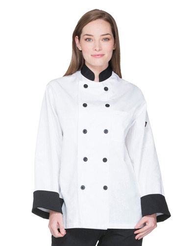Unisex Classic 10 Button Chef Coat