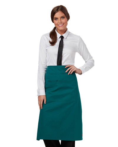 Full Bistro Waist Apron with 2 Pockets