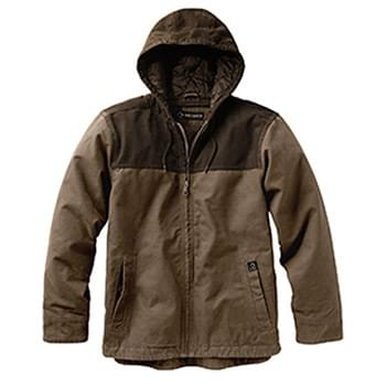 Men's 12 oz. 100% Cotton Canvas Hooded Terrain Jacket