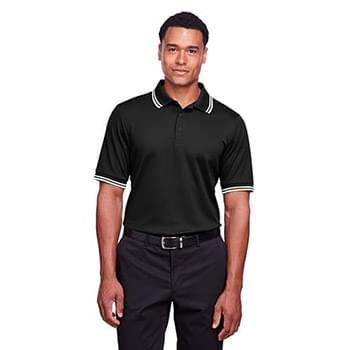 Men's CrownLux Performance Plaited Tipped Polo