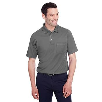 Men's CrownLux Performance Plaited Polo with Pocket