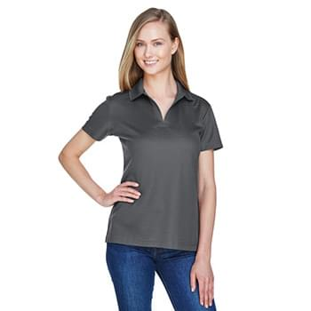 CrownLux Performance? Ladies' Plaited Polo