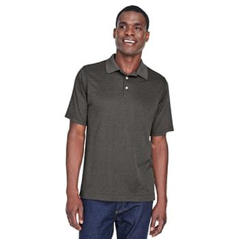 Men's Pima-Tech Jet Piqu Heather Polo