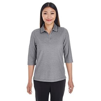 Ladies' Pima-Tech Oxford Piqu Polo
