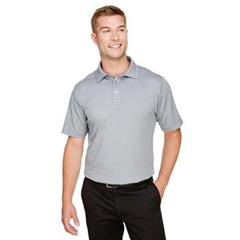 CrownLux PerformanceMen's Address Melange Polo