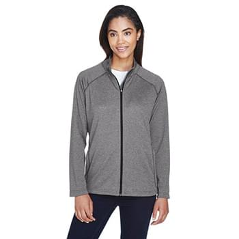 Ladies' Stretch Tech-Shell Compass Full-Zip