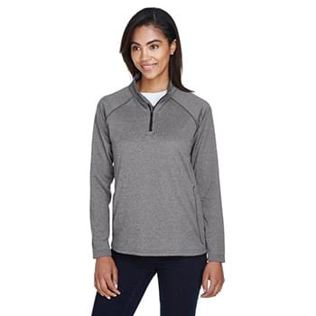 Ladies' Stretch Tech-Shell Compass Quarter-Zip
