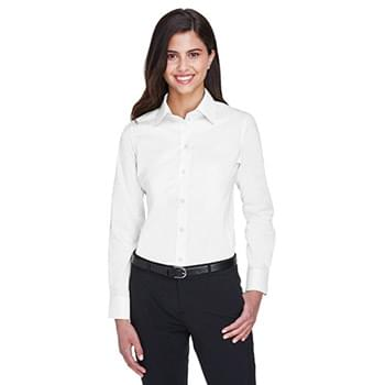 Ladies' Crown Woven Collection? Solid Stretch Twill