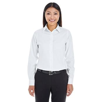 Ladies' Crown Woven CCollection Royal Dobby Shirt