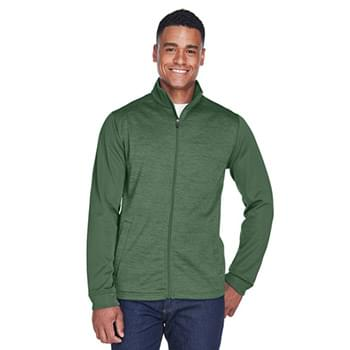 Men's Newbury Colorblock Mlange Fleece Full-Zip