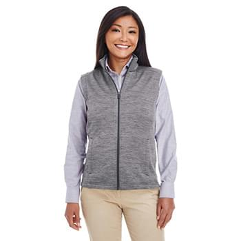 Ladies' Newbury MlangeFleece Vest
