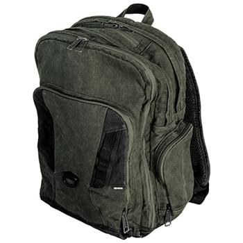 Heavy Duty Traveler Canvas Backpack