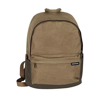 100% Waxed Cotton Canvas Backpack