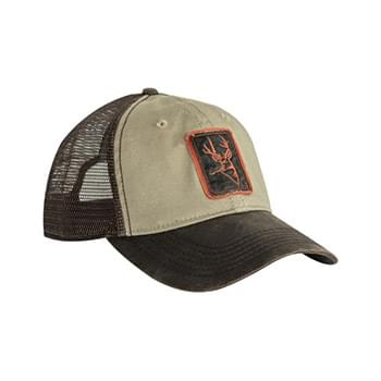 Waxy Cotton Trucker Buck Icon Cap