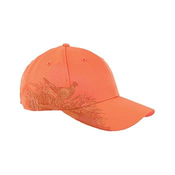 Brushed Cotton Twill Pheasant Cap