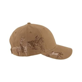 Brushed Cotton Twill Team Roping Cap