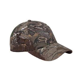 Deer Mule Camo Structured Mid-Profile Hat