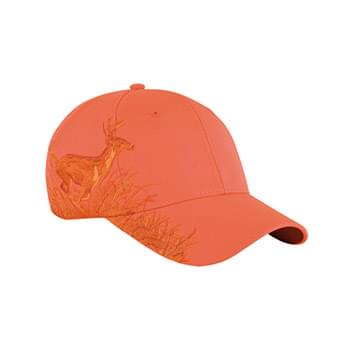 Running Buck Structured Mid-Profile Hat
