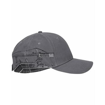 Brushed Cotton Twill Tower Crane Cap