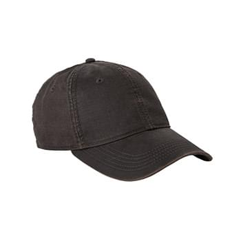 Landmark Unstructured Low-Profile Waxy Canvas Hat