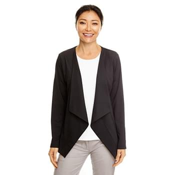 Ladies' Perfect Fit Draped Open Blazer
