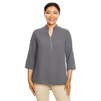 Ladies' Perfect Fit  3/4-Sleeve Crepe Tunic