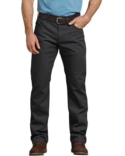 Men's FLEX Regular Fit Straight Leg Tough Max Duck 5-Pocket Pant