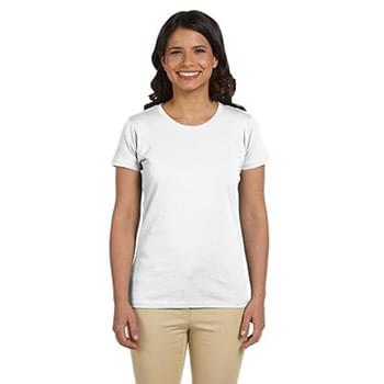 Ladies' 100% Organic Cotton Classic Short-Sleeve T-Shirt