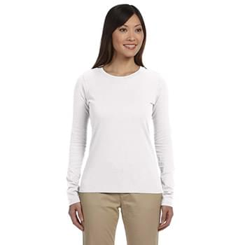 Ladies' 4.4 oz., 100% Organic Cotton Classic Long-Sleeve T-Shirt