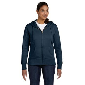 Ladies' Organic/Recycled Full-Zip Hooded Sweatshirt