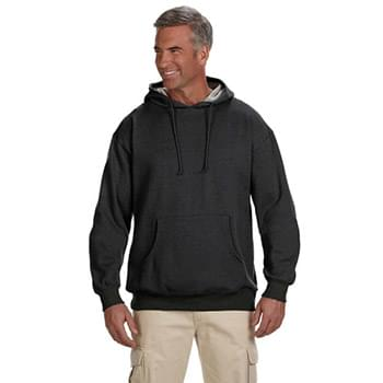 Adult Organic/Recycled Heathered Fleece Pullover Hooded Sweatshirt