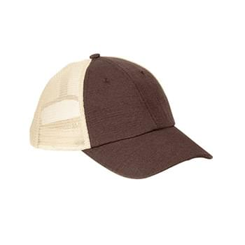Hemp Washed Soft Mesh Trucker