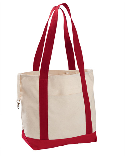 12 oz. Organic Cotton Canvas Boat Tote Bag