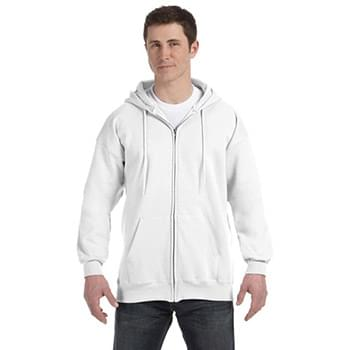 Adult 9.7 oz. Ultimate Cotton? 90/10 Full-Zip Hood