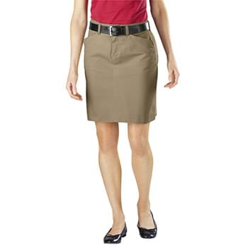 Ladies' Stretch Twill Skirt