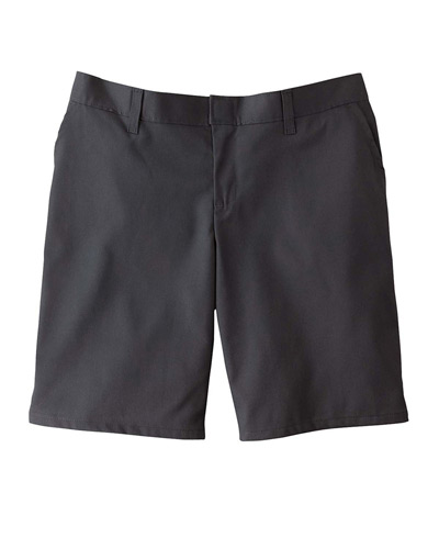 "6.75 oz. Women's 9"" Flat Front Short"