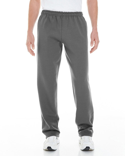 Adult Heavy Blend? Adult 8 oz. Open-Bottom Sweatpants with Pockets