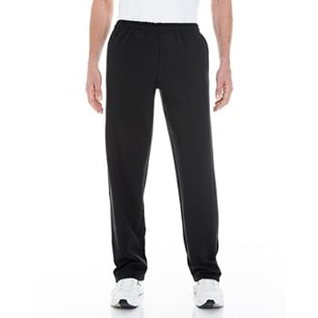 Adult Heavy Blend Adult 8 oz. Open-Bottom Sweatpants with Pockets