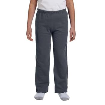 Youth Heavy Blend? 8 oz., 50/50 Open-Bottom Sweatpants