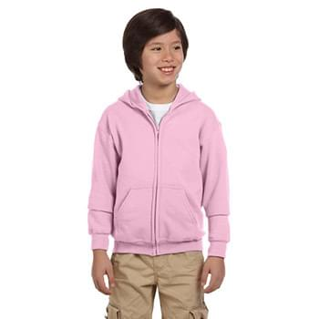 Youth Heavy Blend? 8 oz., 50/50 Full-Zip Hooded Sweatshirt