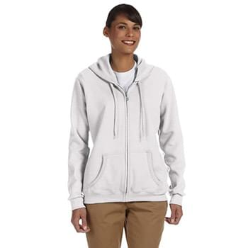 Ladies' Heavy Blend Ladies' 8 oz., 50/50 Full-Zip Hooded Sweatshirt