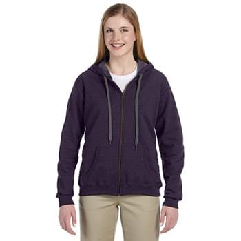 Heavy Blend Ladies' 8 oz. Vintage Classic Full-Zip Hooded Sweatshirt