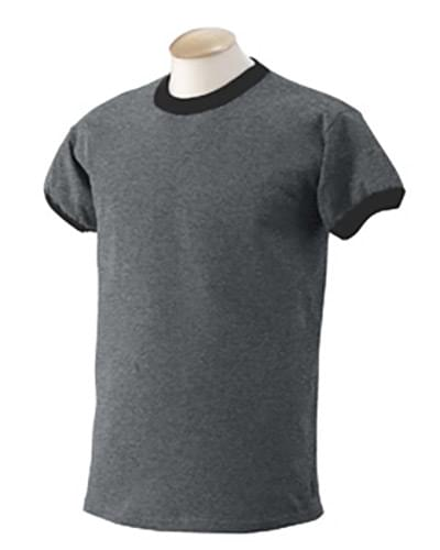 6.1 oz. Ultra Cotton? Ringer T-Shirt