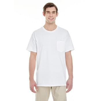 Adult  Heavy Cotton 5.3oz. Pocket T-Shirt