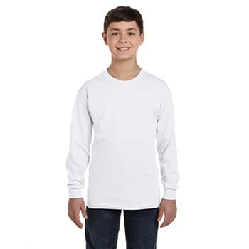 Youth Heavy Cotton Long-Sleeve T-Shirt