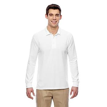 Adult 6 oz. Double Piqu? Long-Sleeve Polo