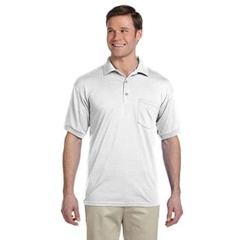 Adult 50/50 Jersey Polo with Pocket