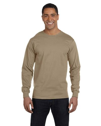 6 oz., 100% Cotton Lofteez HD Long-Sleeve T-Shirt