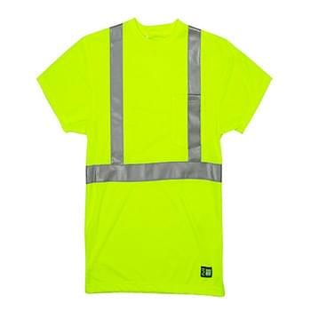 Men's Tall Hi-Vis Class 2 Performance Short Sleeve T-Shirt